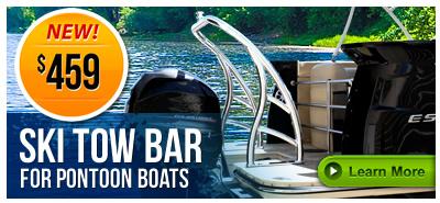 Ski Tow Bar for Pontoon Boats