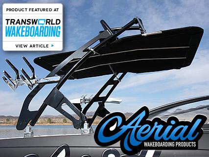 Aerial FreeRide wakeboard boat tower