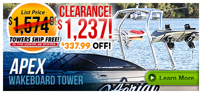 Apex Wakeboard Boat Towers