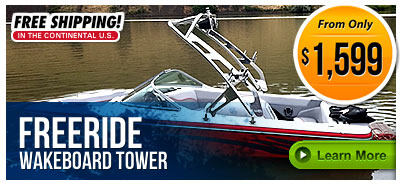 Freeride Wakeboard Towers
