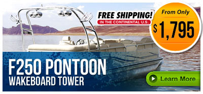 Pontoon Wakeboard Towers