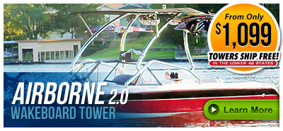 Airborne 2.0 Wakeboard Boat Towers