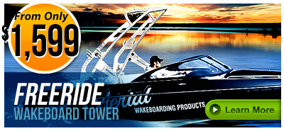 Freeride Wakeboard Towers