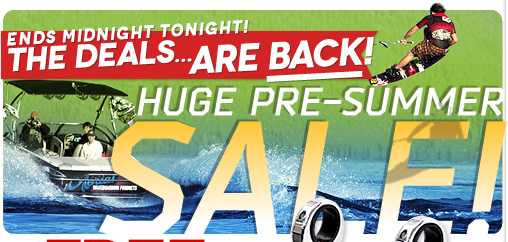 New Wakeboard Tower Package Deals for 2015
