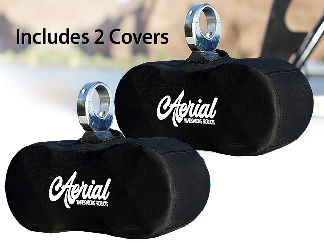 Wakeboard tower speakers 2 Neoprene Covers for Twin Bullet Wakeboard Tower Speakers for boats