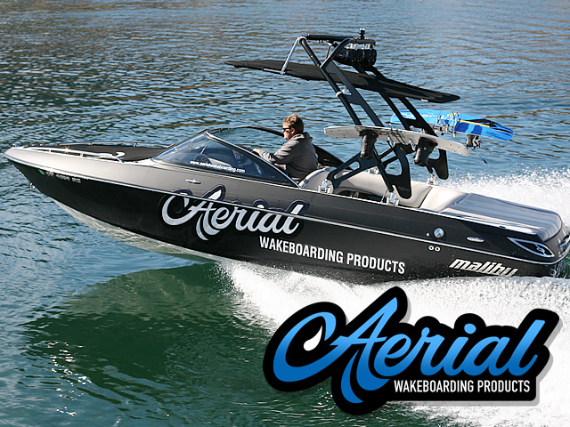 Modern style of the FreeRide tower will transform your boat into a modern towboat