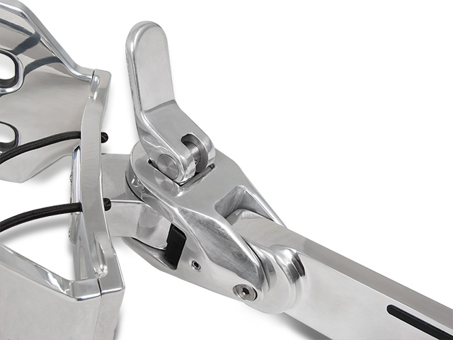 Aerial FreeRide Rotating Block - Polished Aluminum  by Aerial Wakeboard Towers and Accessories