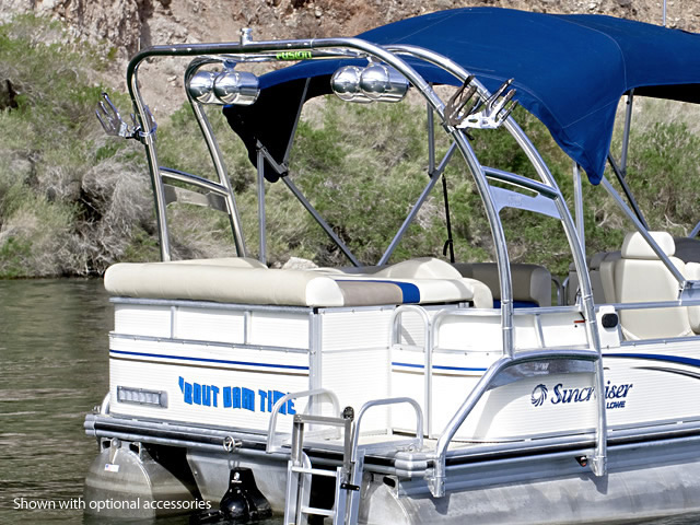 wakeboard tower for 2008 Hurricane Fun Deck pontoon boat