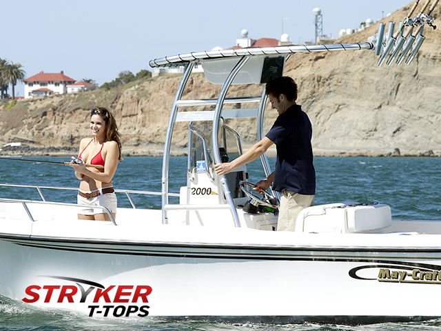 SG300 boat ttop 1 sg300 t tops for center console boats by stryker  at soozxer.org