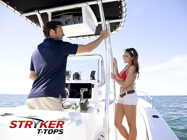 SG300 T-Tops for Center Console Boats by Stryker