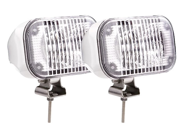LED Deck Floodlight Kit, White Housing (2 piece kit) Wakeboard Tower