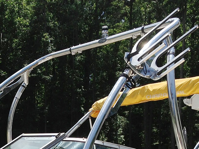 Aerial Ascent 2.0 Wakeboard Tower - Polished Aluminum for wakeboard towers upgrades any boat