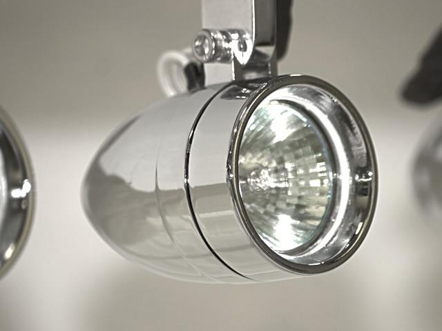 Halogen light close-up photo