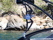 Aerial Assault Wakeboard Tower Rack - Stealth Black (included with tower purchase only) for Wakeboard Tower
