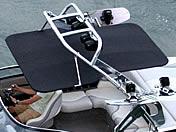 Aerial Freeride Wakeboard Tower Bimini - Stainless Steel (1 of 2) for Wakeboard Tower