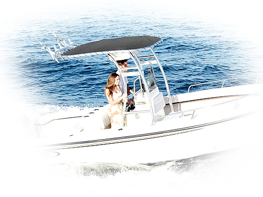 Stryker T-Tops - Great Shade for Your Center Console Boat