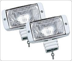 Halogen Deck Light (White)