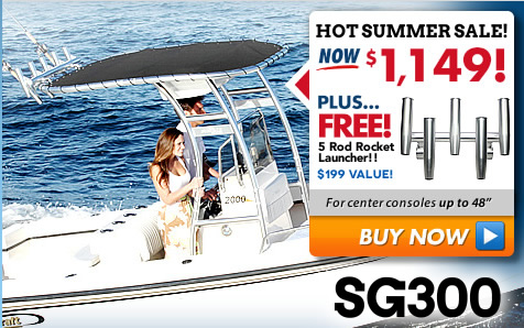New 2016 Stryker T-Tops Upgrade Any Center Console Boat
