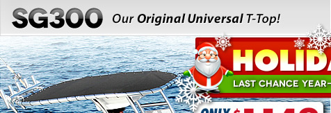 December 2014 boat t top sale