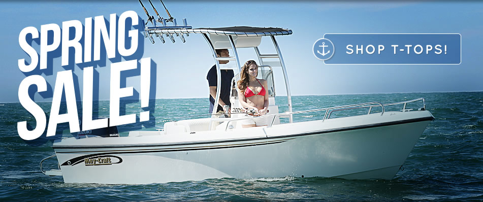 T-Tops for Boats Upgrade Any Center Console Boat