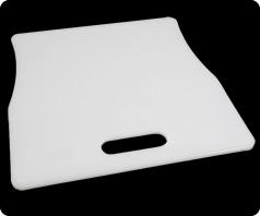 Cooler cutting board divider