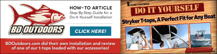 BDOutdoors.com how-to t-top installation project and product review