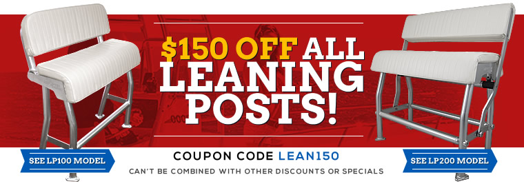 Leaning Posts on Sale