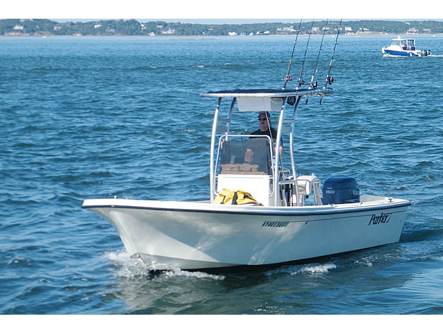 T-Top for 2003 Parker SE center console boats 118739-4