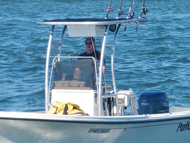 T-Top for 2003 Parker SE center console boats 118739-5