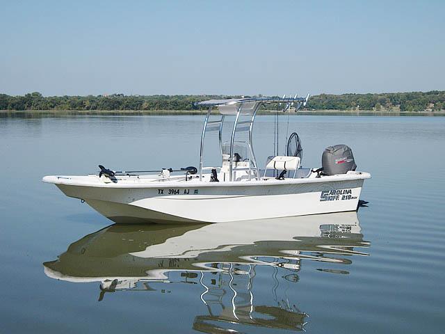 T-Top for 2007 Carolina Skiff 218 DLV center console boats 119469-2