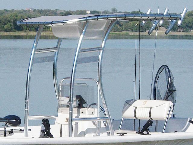 T-Top for 2007 Carolina Skiff 218 DLV center console boats 119469-4