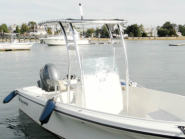 T-Top for 2012 Sailfish 2080 center console boats 120532-2