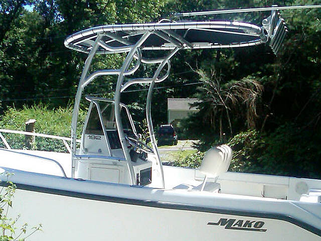 T-Top for 1999 Mako 192 center console boats 120544-2