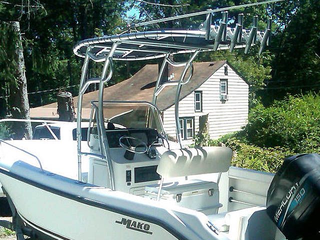 T-Top for 1999 Mako 192 center console boats 120544-4
