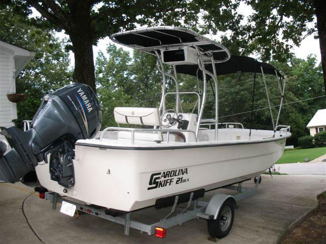 T-Top for Carolina Skiff center console boats 12376-2