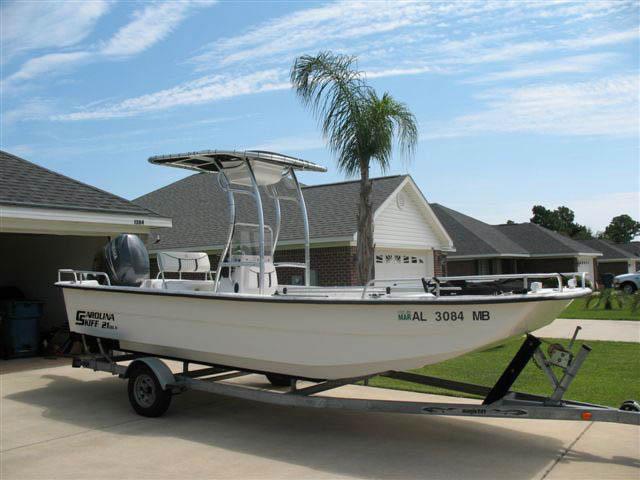 T-Top for Carolina Skiff center console boats 12376-3