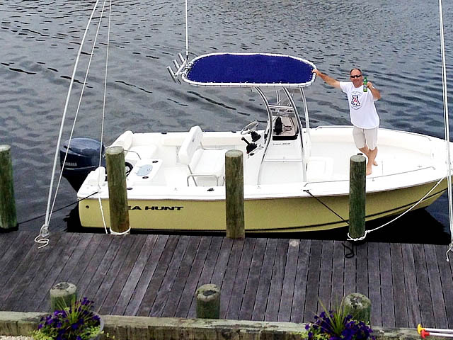 T-Top for 2014 Sea Hunt 202 center console boats 131495-3