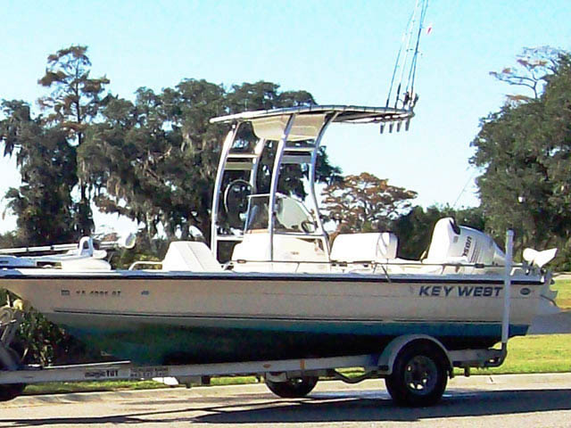 T-Top for Key West center console boats 13381-2