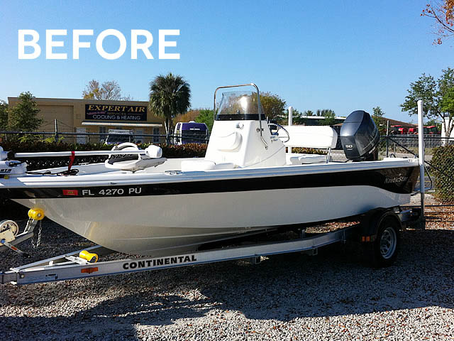 T-Top for 2014 NauticStar 1810 Bay center console boats 152706-3
