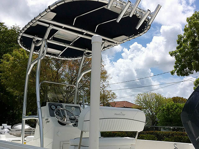 T-Top for 2014 NauticStar 1810 Bay center console boats 152706-4