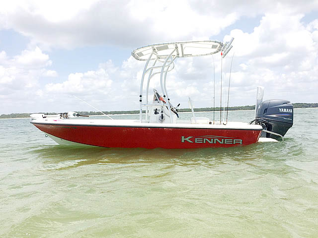 2007 Kenner 180 boat t-tops