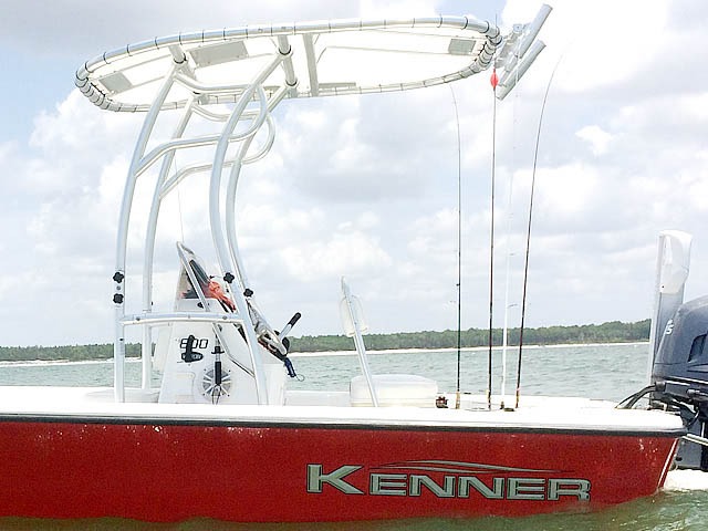 T-Top for 2007 Kenner 180 center console boats 154280-2