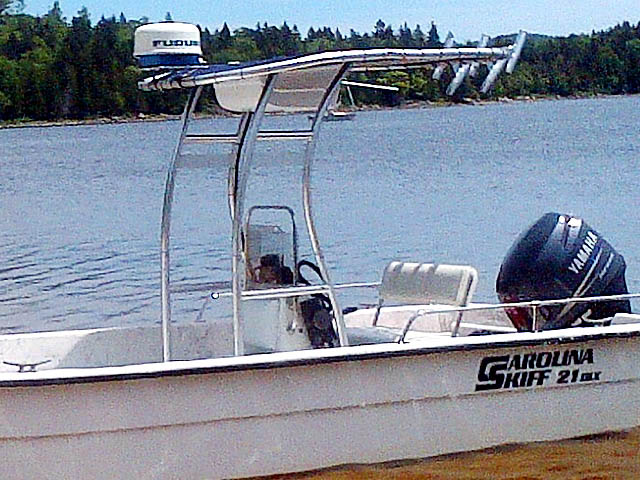 T-Top for 2004 Carolina Skiff 21 DLX center console boats 156492-2
