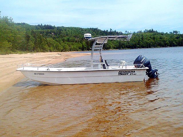 T-Top for 2004 Carolina Skiff 21 DLX center console boats 156492-3
