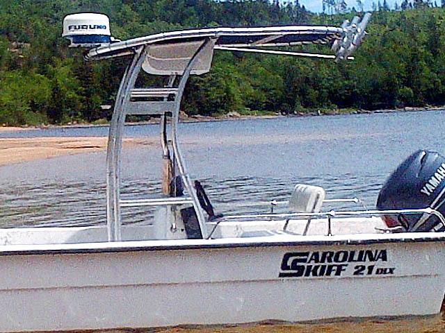 T-Top for 2004 Carolina Skiff 21 DLX center console boats 156492-4