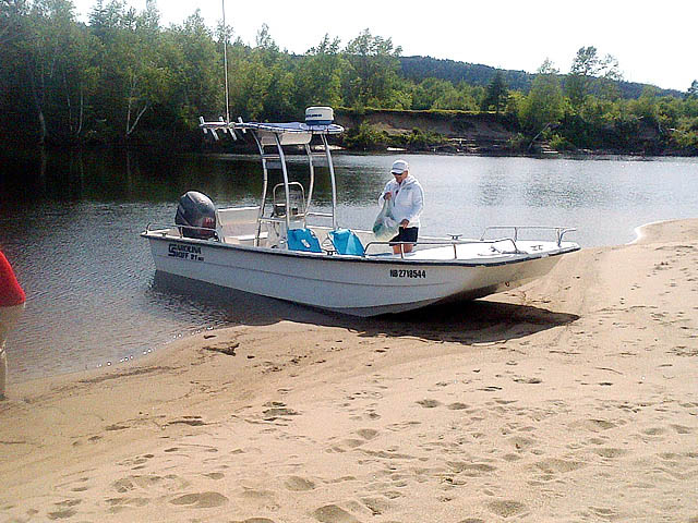 T-Top for 2004 Carolina Skiff 21 DLX center console boats 156492-5