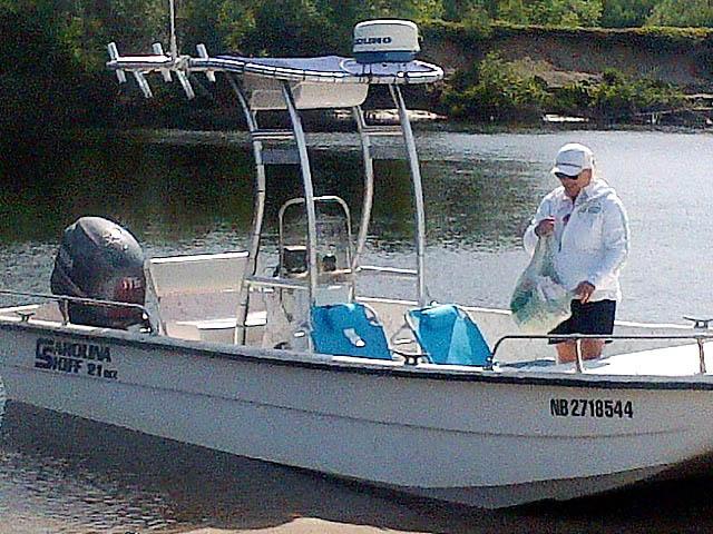 T-Top for 2004 Carolina Skiff 21 DLX center console boats 156492-6