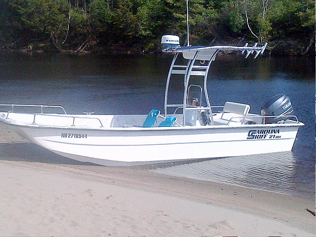 T-Top for 2004 Carolina Skiff 21 DLX center console boats 156492-7