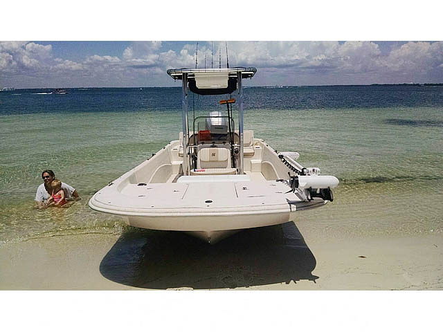 T-Top for 2013 Carolina Skiff 218 DLV center console boats 158471-4