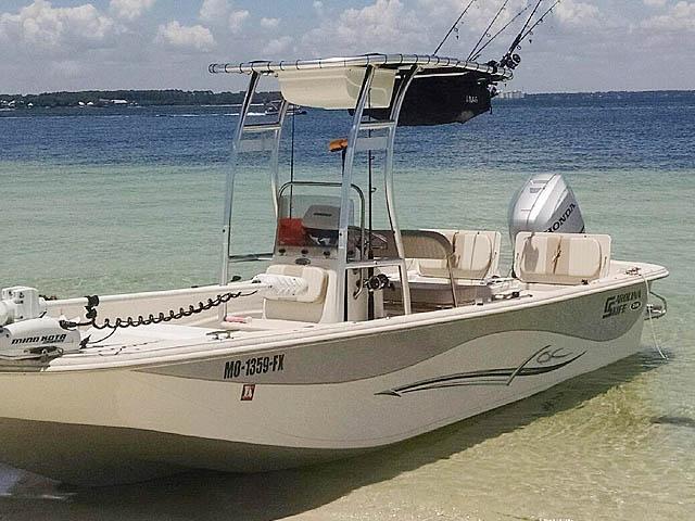 T-Top for 2013 Carolina Skiff 218 DLV center console boats 158471-6